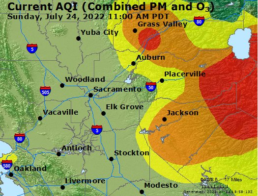 Foresthill Weathercom Foresthill CA Air Quality Index Forecast