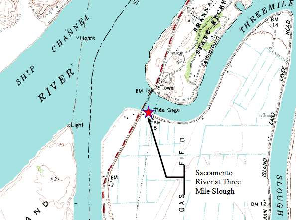 Foresthill Weather Tide At Threemile Slough Sacramento River